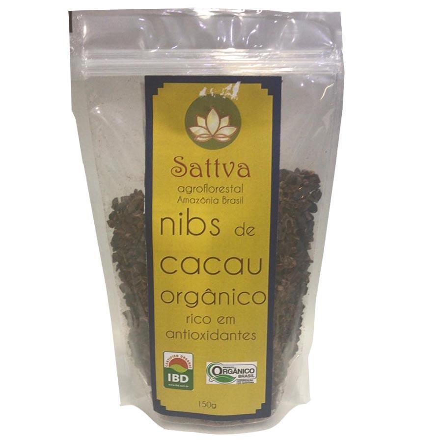 Nibs De Cacau 150g - Sattva