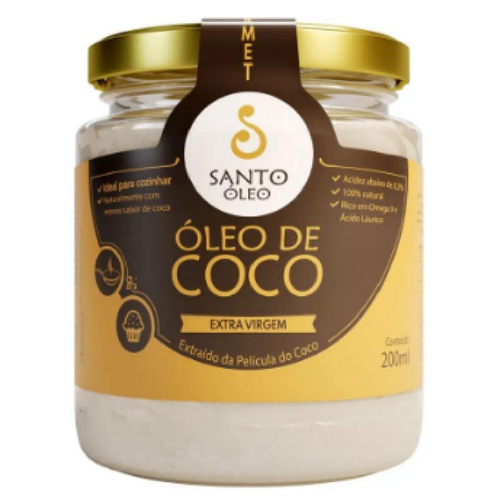 Óleo de coco extra virgem 200 ml - Santo Oleo
