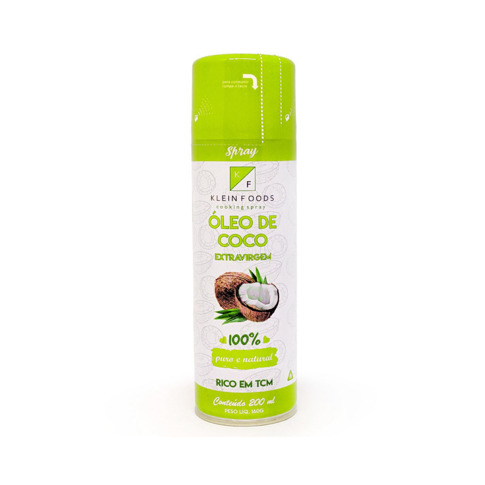 Óleo de coco extra virgem - Klein Foods 200ML