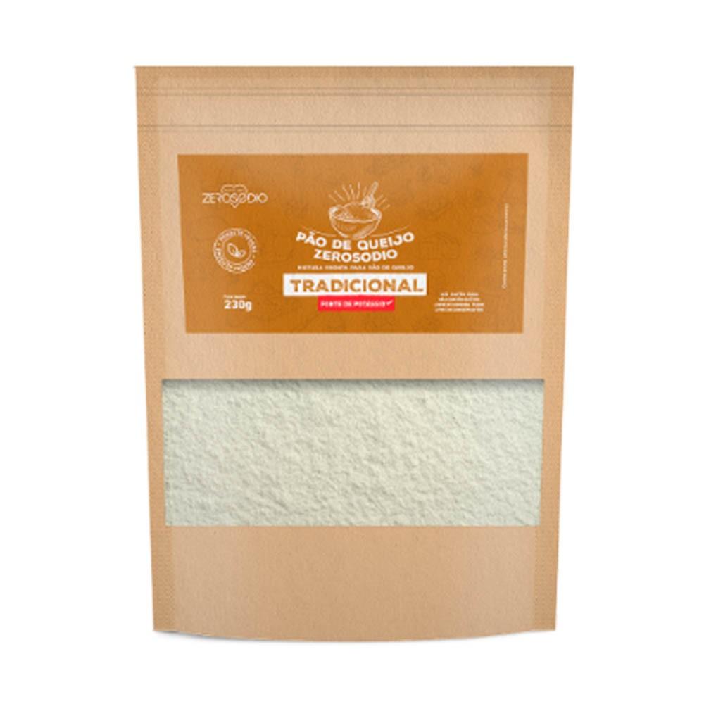 Pão de queijo Parmesão 230g - ZeroSodio Nutricare