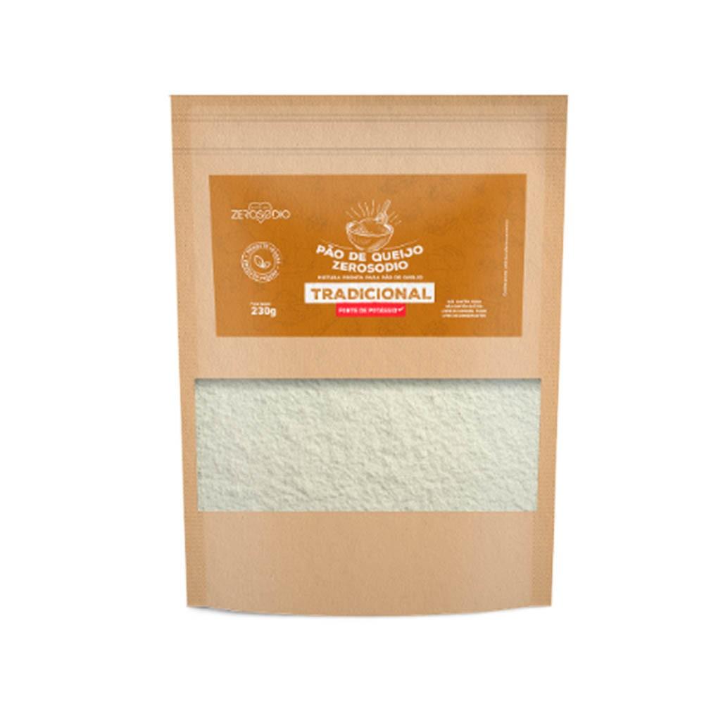 Pão de Queijo Vegano Tradicional 230g - ZeroSodio Nutricare