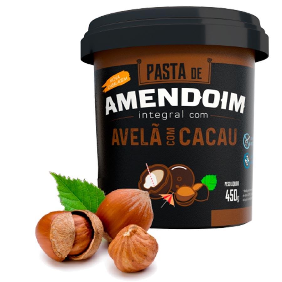 Pasta De Amendoim Avelã Com Cacau 450g - Mandubim