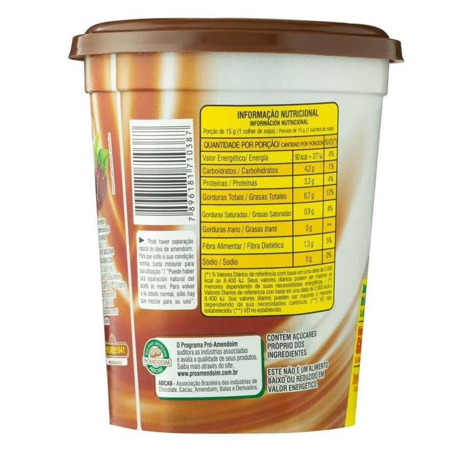 Pasta De Amendoim Cacau Amendopower 500g - Dacolonia