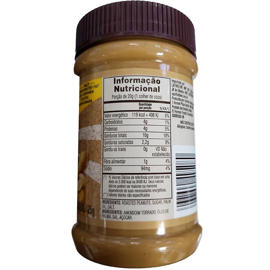 Pasta De Amendoim Natural Cremosa 425g - Skippy