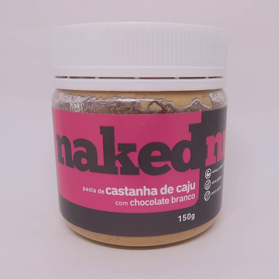 Pasta De Castanha De Caju Com Chocolate Branco 150g - Naked Nuts