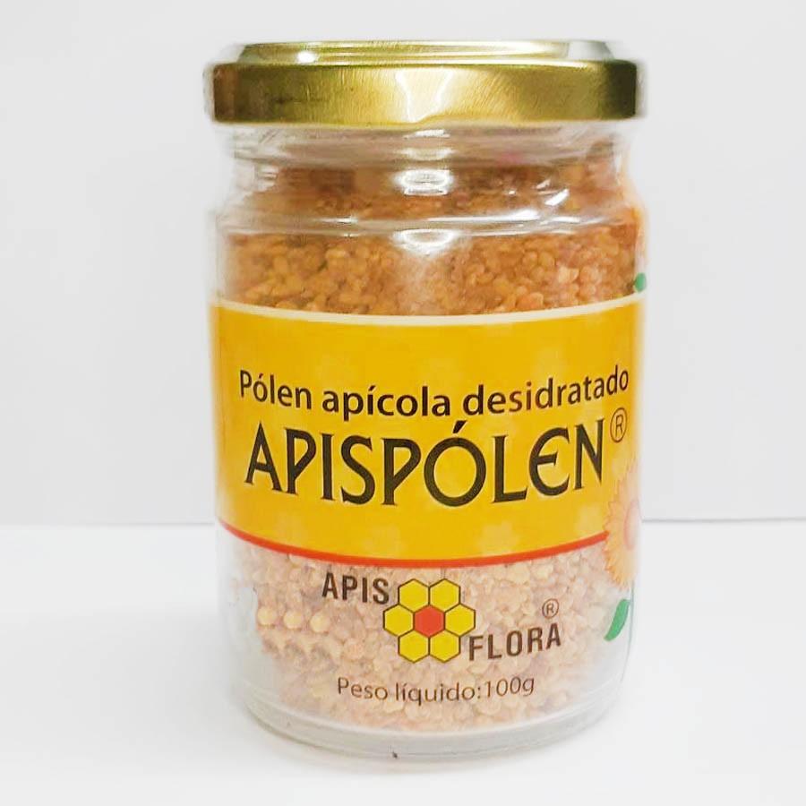 Pólen apícola desidratado 100g Apispólen Apis Flora