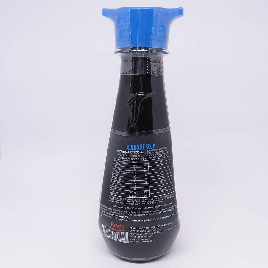 Shoyu Zero Açucar Mrs 160ml - Taste
