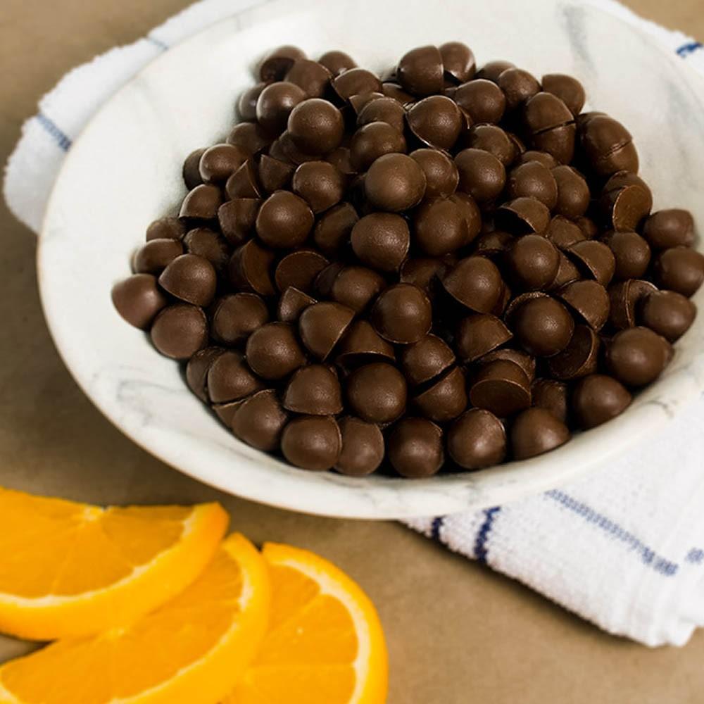 Snack de Laranja com cobertura de Chocolate 40g - NaReal