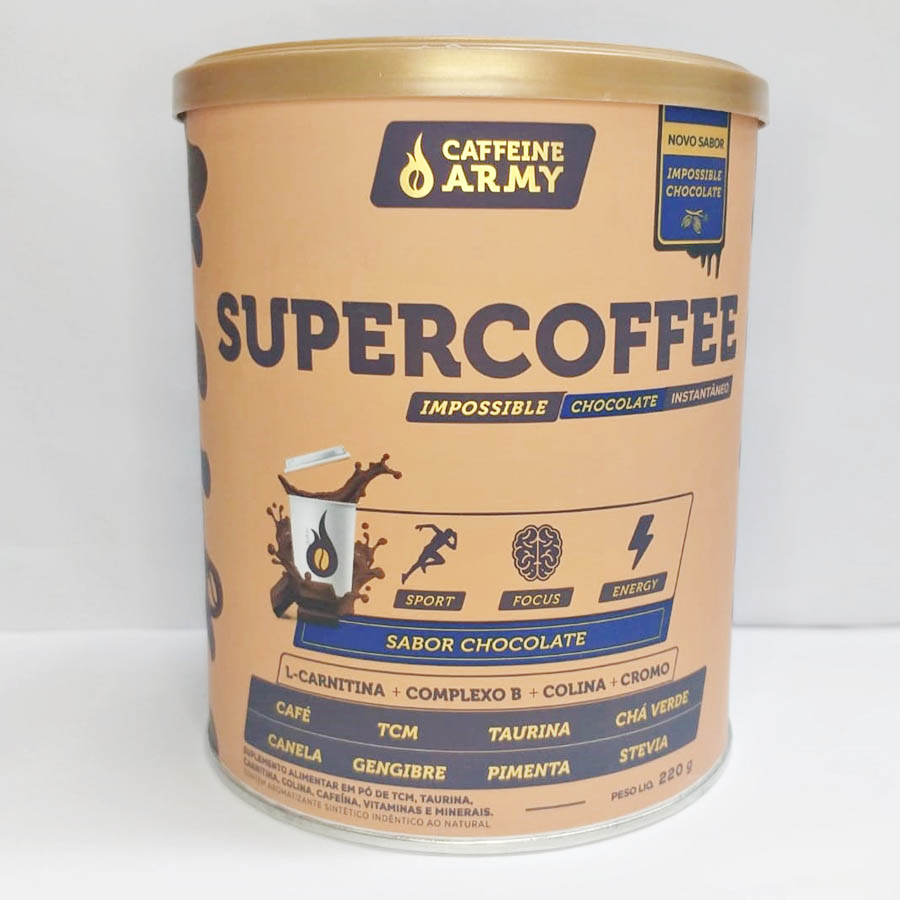 Supercoffee Chocolate 220g - Caffeinearmy