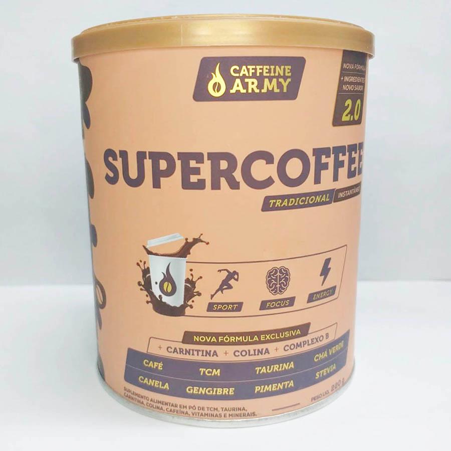 Supercoffee Tradicional 220g - Caffeine Army