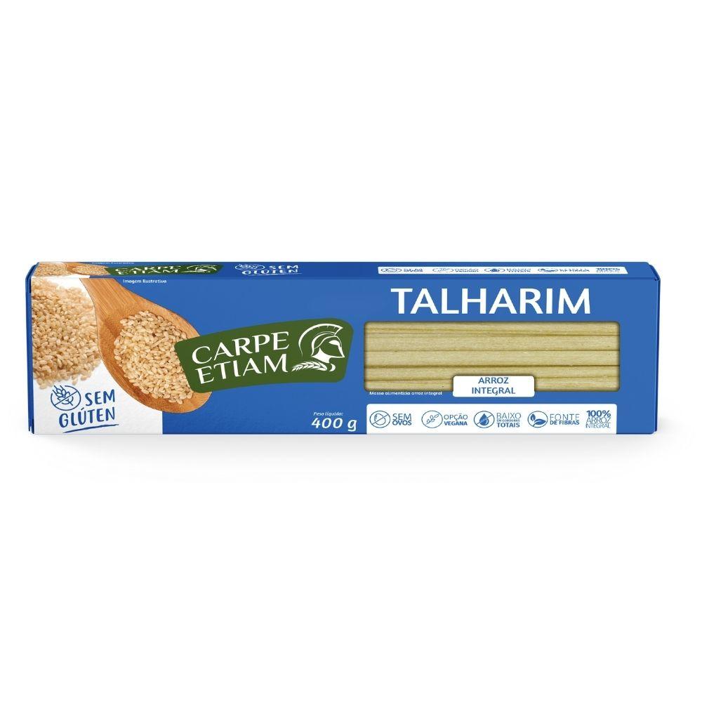 Talharim Arroz Integral  400GR - CARPE ETIAM
