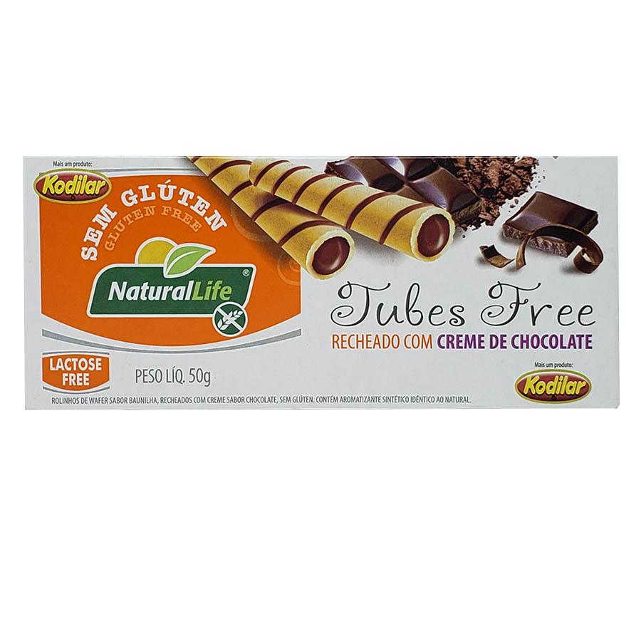 Tubes Free Creme De Chocolate 50g - Natural Life