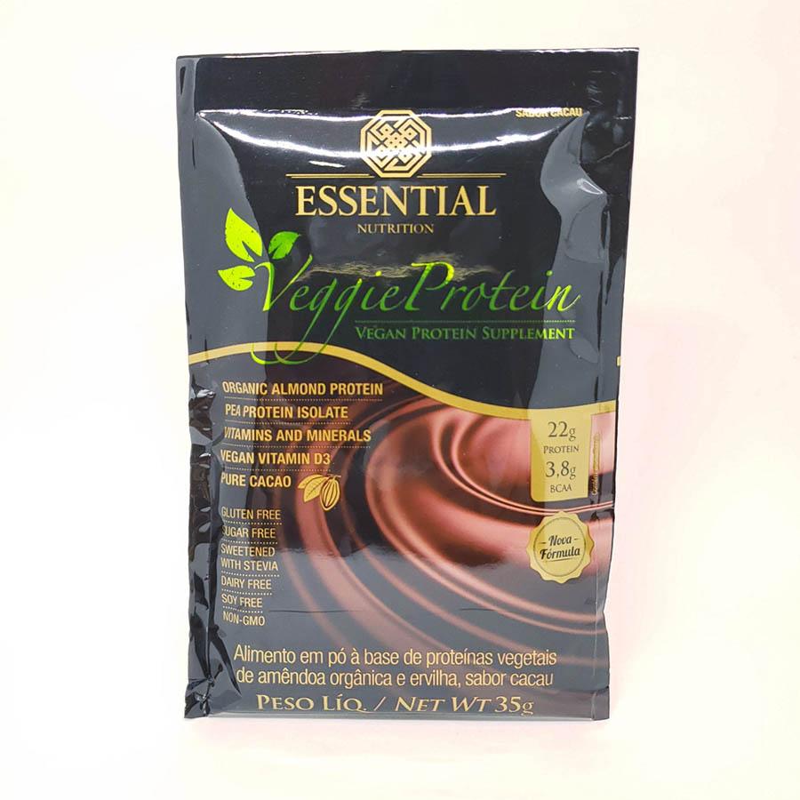 Veggie Protein Cacau Sachê 35g - Essential Nutrition