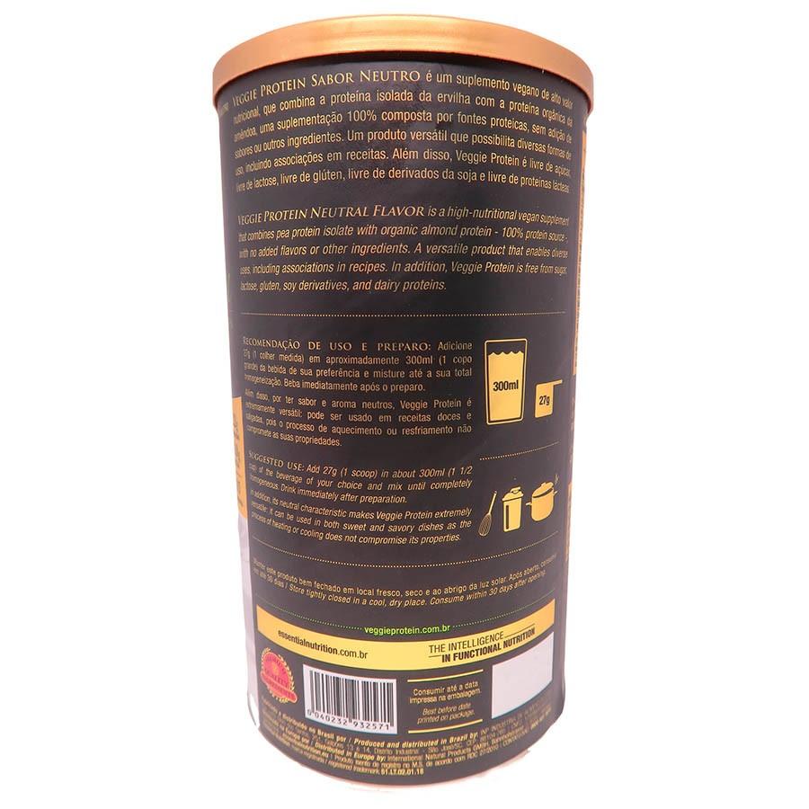 Veggie Protein Neutro 405g - Essential Nutrition