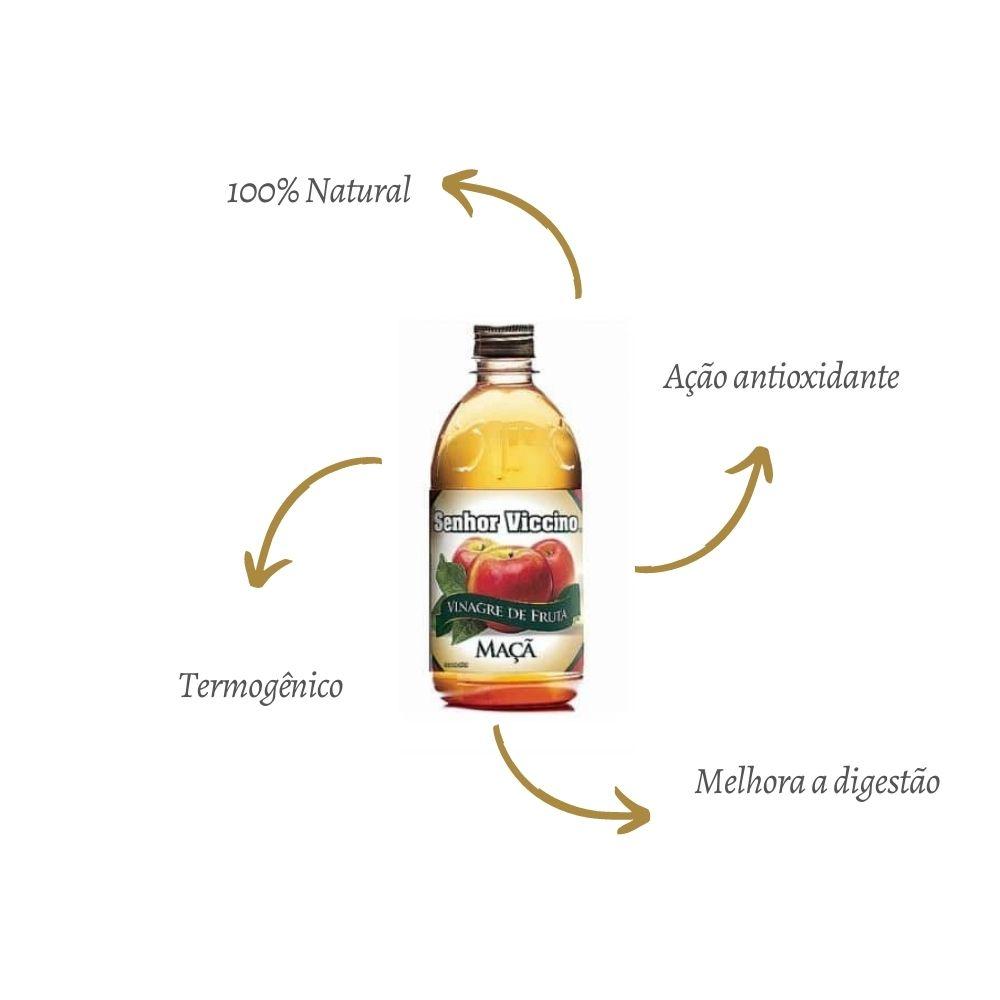 Vinagre de Maçã Tradicional 500 ml - Senhor Viccino