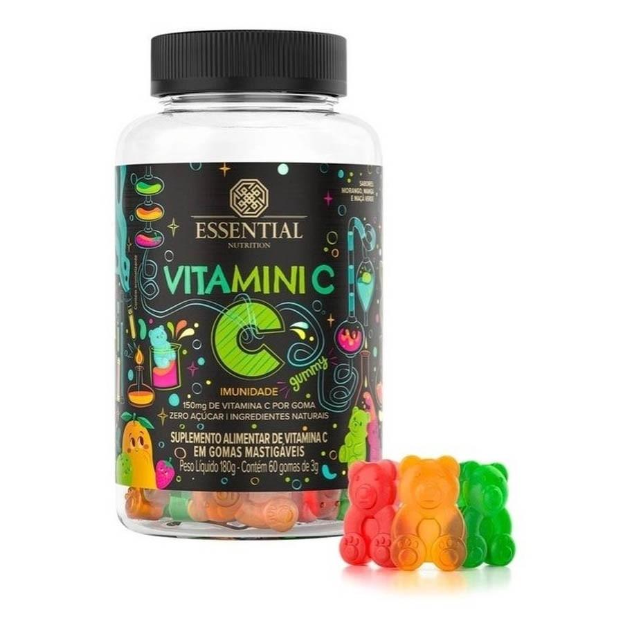 Vitamini C 60 Gomas De 3g - Essential Nutrition