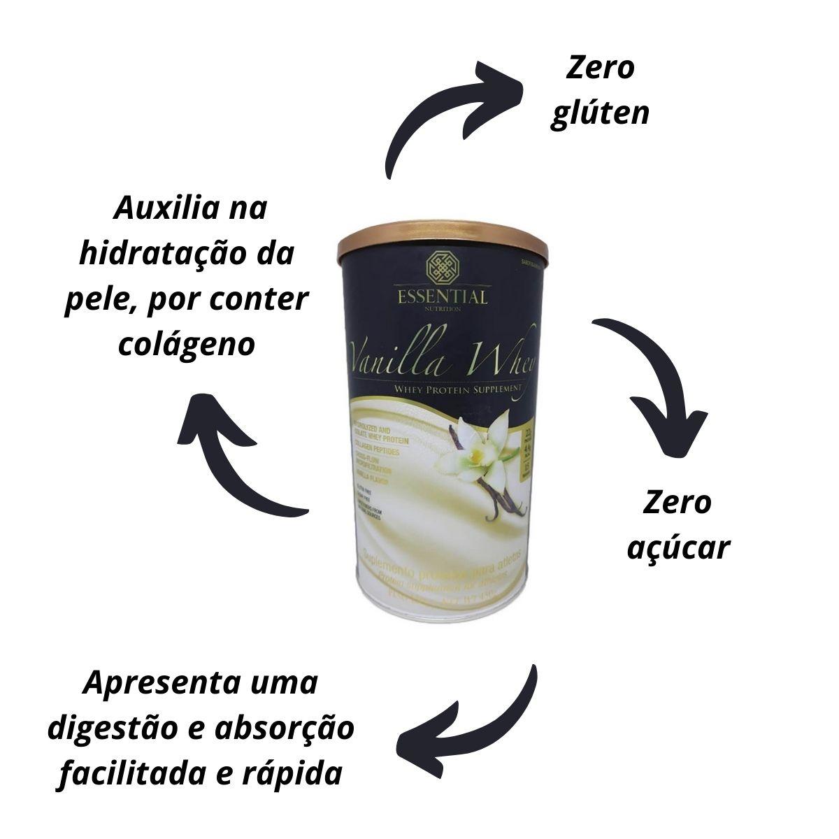 Whey Protein Vanilla 450g - Essential Nutrition