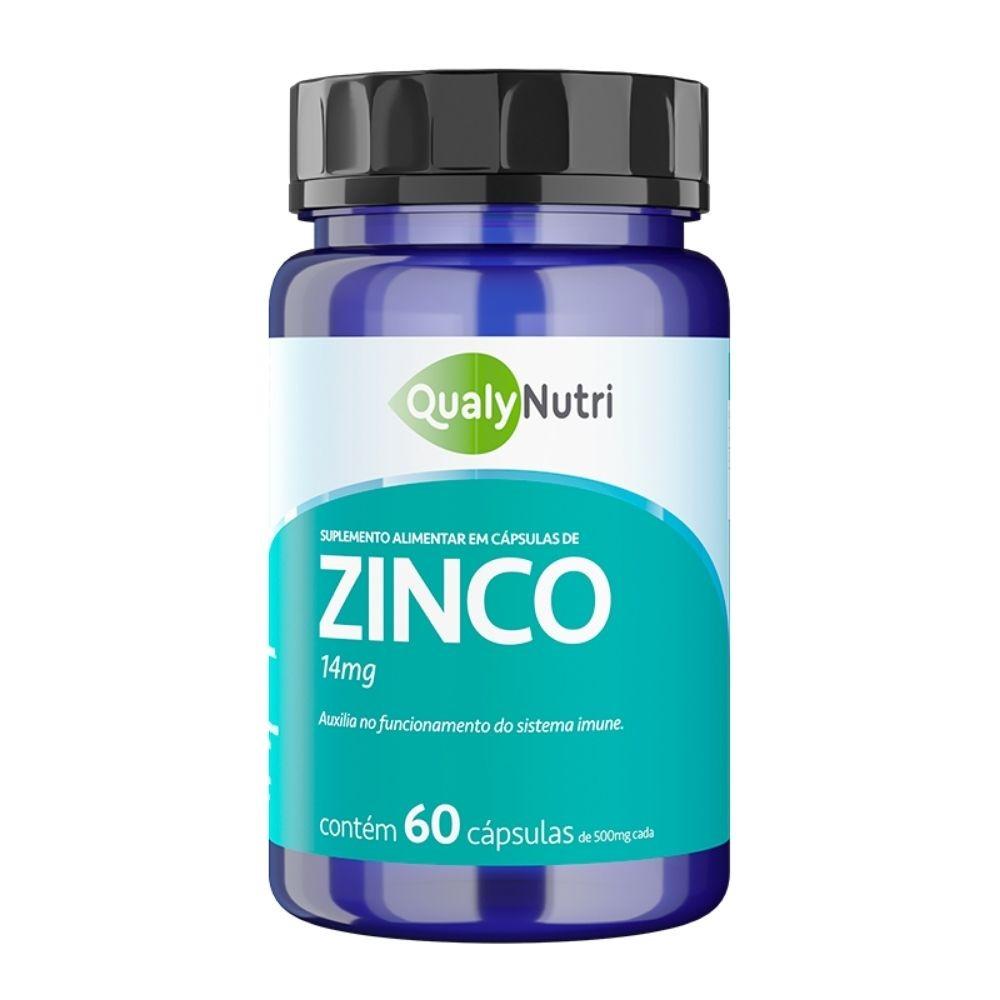 Zinco Com 60 Capsulas - Qualy Nutri