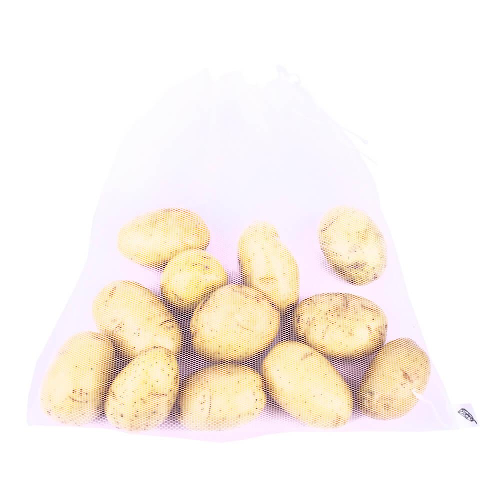 Kit 18 sacos para hortifrúti