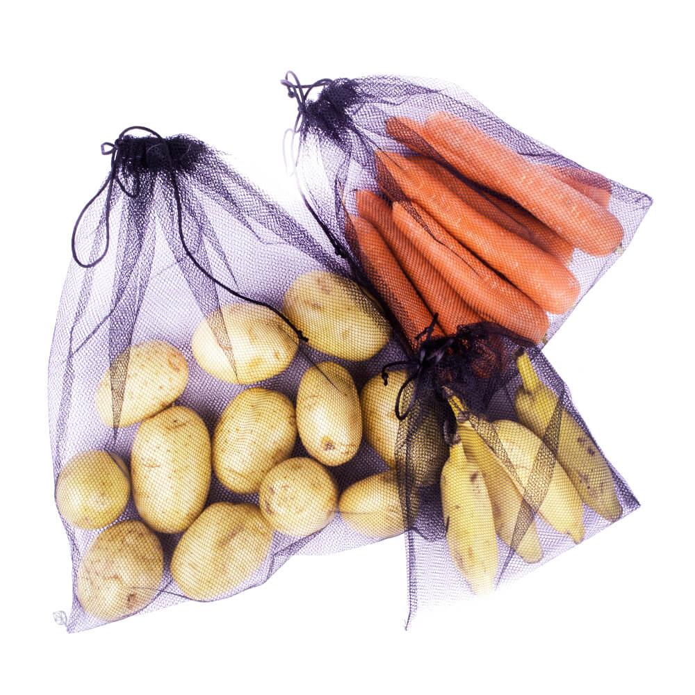 Kit 6 sacos para  hortifrúti