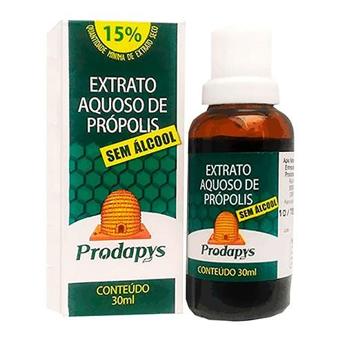 Extrato De Própolis Aquoso Gotas Sem Álcool 30ml Prodapys