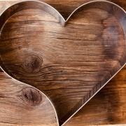 Aro cortador formato coração de Inox  26cmx 5cm - Cód. 0564