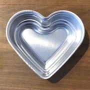 Forma formato coração ballerine para pool cake tam. G - Cód 0886