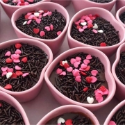 [OUTLET] Pote formato coração de cerâmica alto rosa 120ml - OUTFY5239 [OUTLET]