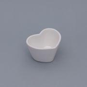 [OUTLET] Vaso baixo formato coração de cerâmica design branca - Cód. OUTEROC485 [OUTLET]