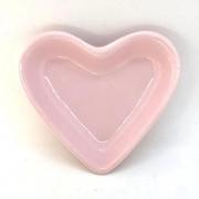 Pires formato coração rosa - Cód. ER148R