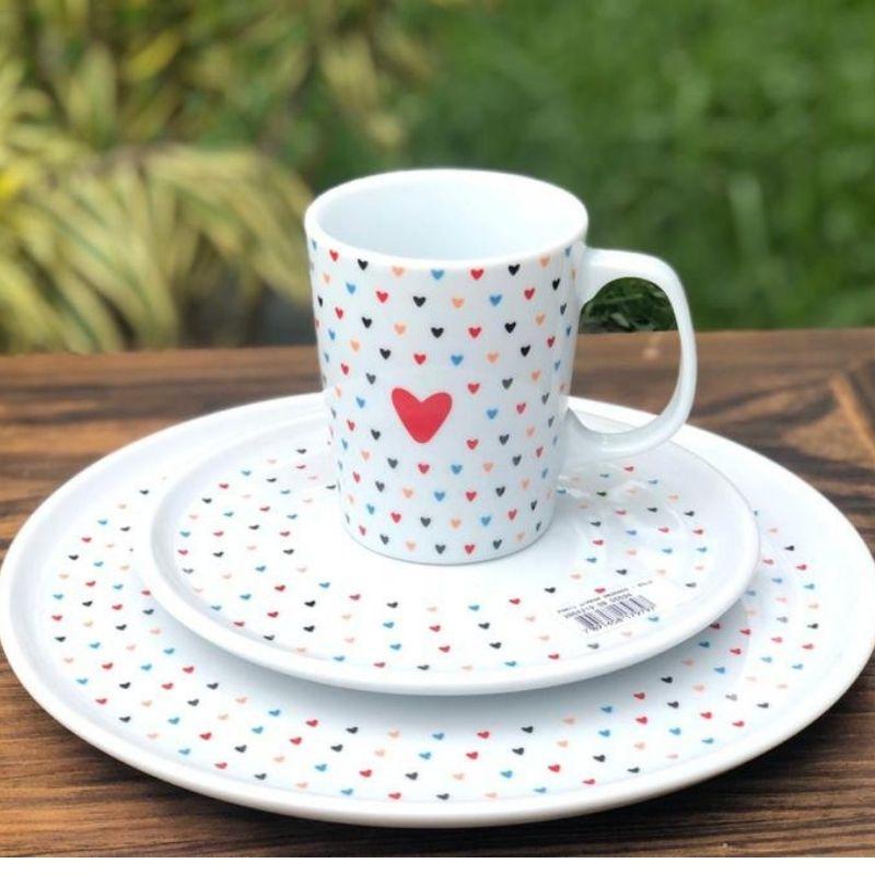 Caneca porcelana linha colors 270ml - Cód. 5.4292002.08