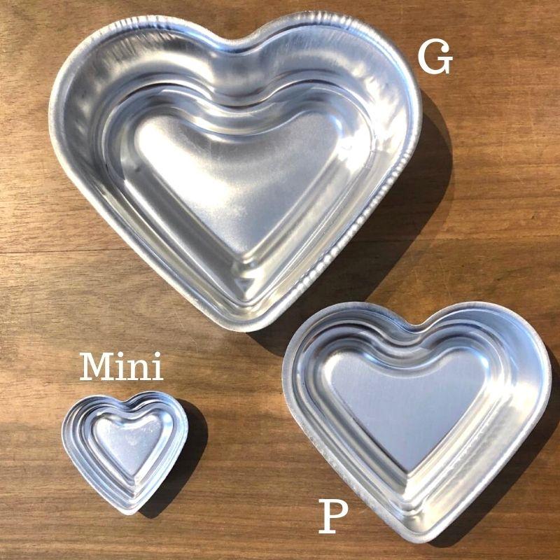 Forma formato coração ballerine para pool cake tam. P - Cód. 3289