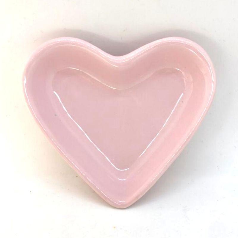 [OUTLET] Pires formato coração rosa - Cód. OUTER148R [OUTLET]