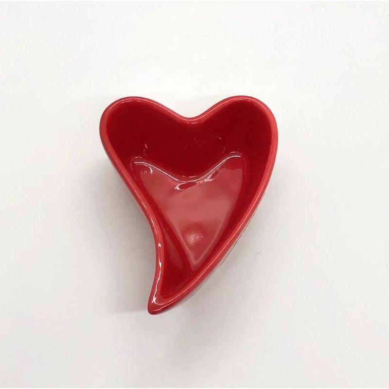 [OUTLET] Pote formato coração design 90ml vermelho - Cód. FY5332 [OUTLET]