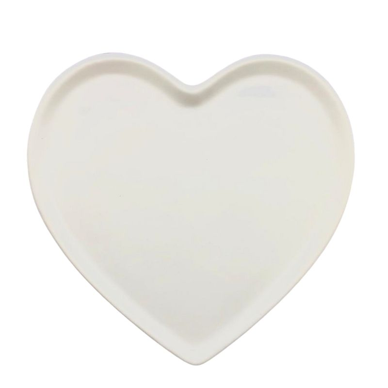 [OUTLET] Prato raso de cerâmica reto branco - Cód. OUTER146B [OUTLET]
