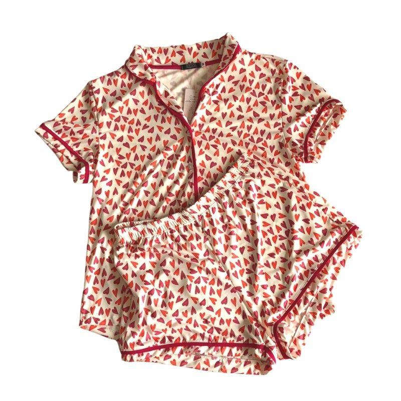 Pijama Explosão de Amor - 2 peças - Tam P - OC471