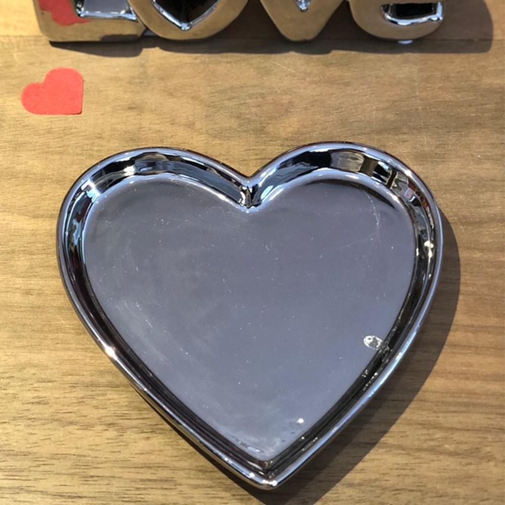 Prato prata de porcelana P - Cód. 44000
