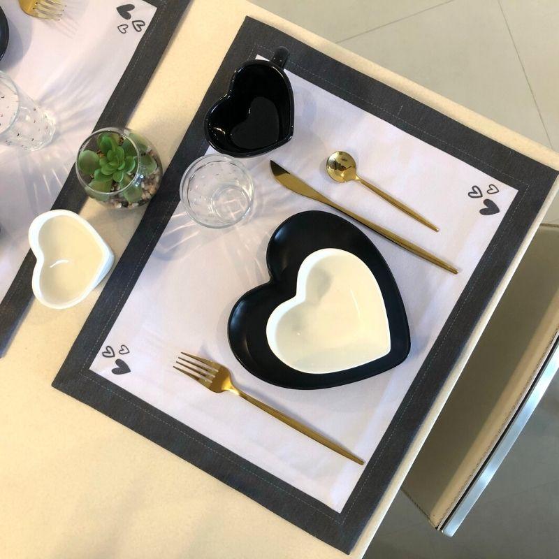 Vaso baixo com vela aromática decorativa de 110 gramas branca - Cód. EROC451
