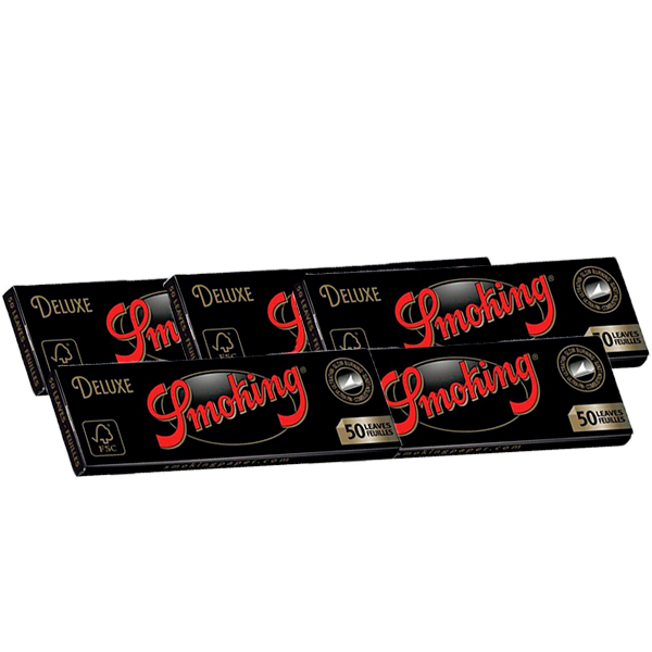 Combo 5 Sedas Smoking Rolling Papers Deluxe (1 ¼)  - Mr. Fumo