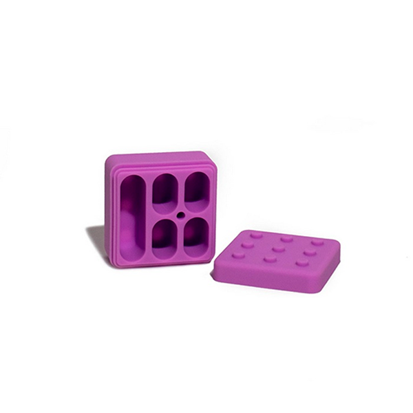 Combo Cuia Suave + Tesoura Bud Cutter + Slick Lego 5x1  - Mr. Fumo