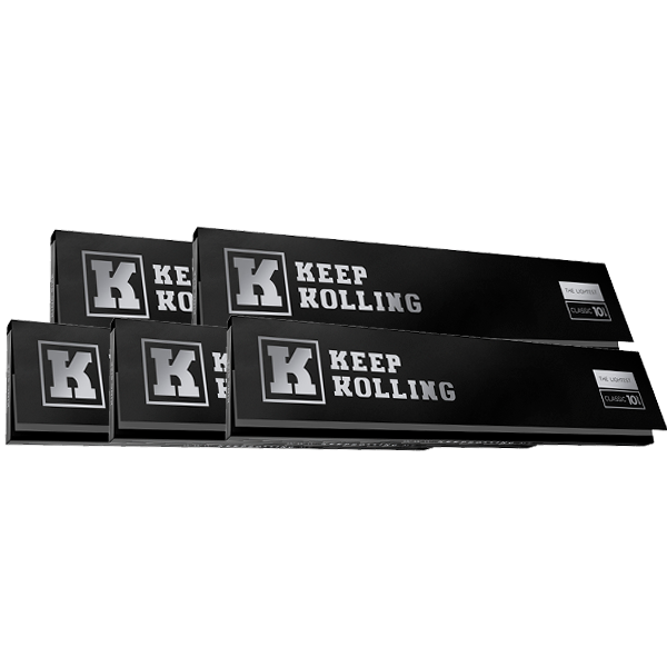 Combo 5 Sedas Keep Rolling Classic (King Size)  - Mr. Fumo