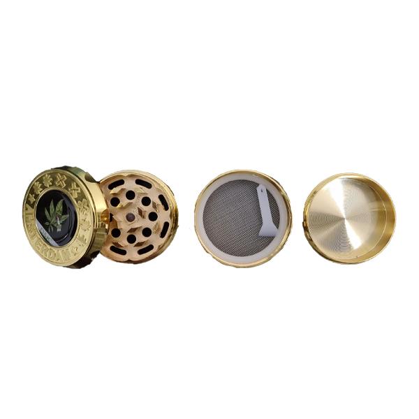 Dichavador de Metal - D&K Ouro  - Mr. Fumo