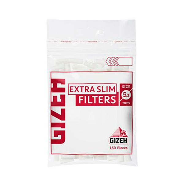 Filtro Gizeh Extra Slim (5,3mm)  - Mr. Fumo