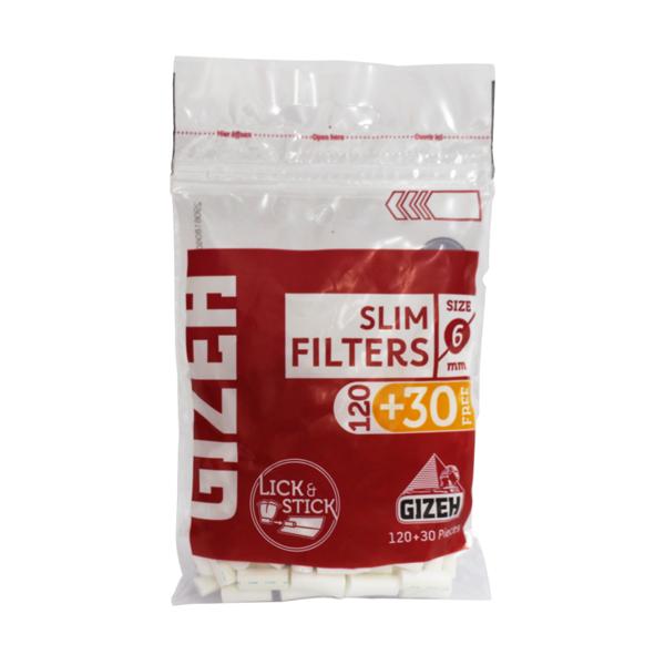 Filtro Gizeh Slim (6 mm)  - Mr. Fumo