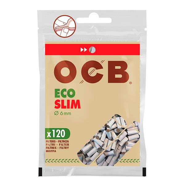 Filtro OCB Ecológico Slim (6mm)  - Mr. Fumo