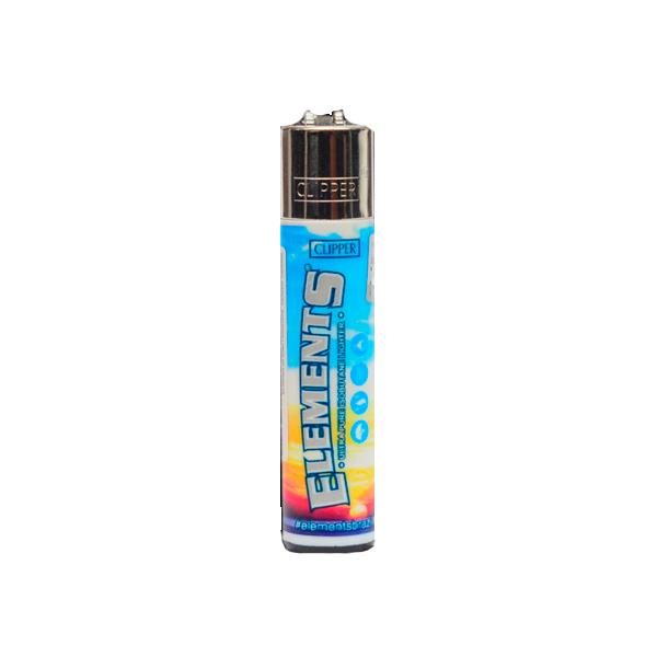 Isqueiro Clipper Grande (Elements)  - Mr. Fumo