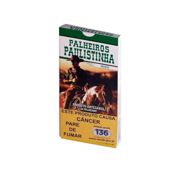 Palheiro Paulistinha - Menta  - Mr. Fumo
