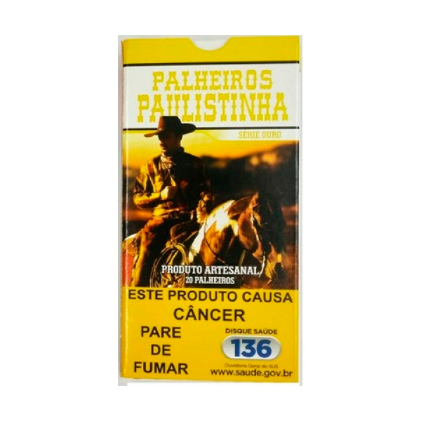 Palheiro Paulistinha - Ouro  - Mr. Fumo