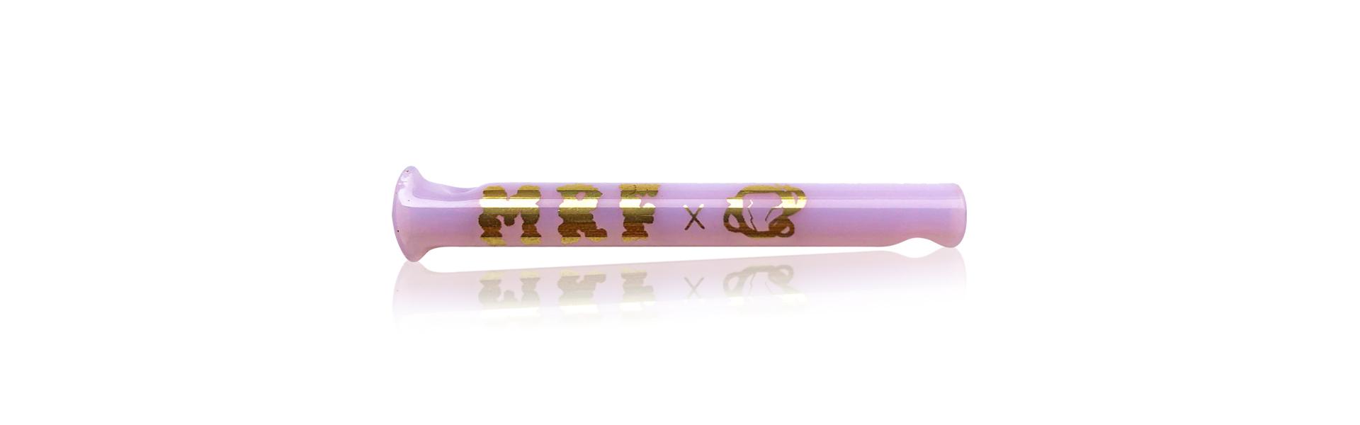 Piteira de Vidro Mr. Fumo x Low Pressure 24k (Coloridas)  - Mr. Fumo