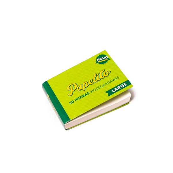 Piteira Papelito Biodegradável Large  - Mr. Fumo